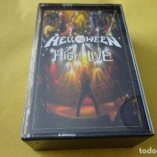 Cassettes Anciennes: CASSETTE MÚSICA - HELLOWEEN - HIGH LIVE (2 CASSETTES). Lote 277012513