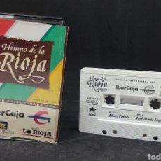 Casetes antiguos: HIMNO DE LA RIOJA - TDKCST34. Lote 277088003