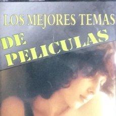 Casetes antiguos: LOS MEJORES TEMAS DE PELICULAS. Lote 277095673