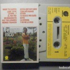 Casetes antiguos: CINTA DE CASSETTE - PEDRITO RICO - IMPACTO 1976 -. Lote 277096478