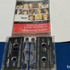 Casetes antiguos: CASETE DOBLE ALFAGUARA AUDIO. TODOS LOS AUTORES Y TODAS LAS VOCES AUDIOLIBRO - 1997. Lote 277098923