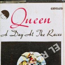 Casetes antiguos: CINTA CASSETTE DE :QUEEN - A DAY AT THE RACES. Lote 277759788