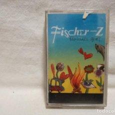 Cassettes Anciennes: CINTA - CASSETTE - CASET - FISCHER-Z - KAMIKAZE SHIRT - (PRECINTADO NO ORIGINAL). Lote 278384768