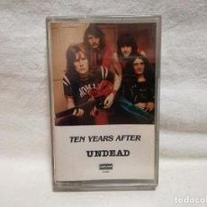 Cassettes Anciennes: CINTA - CASSETTE - CASET - TEN YEARS - UNDEAD - (PRECINTADO NO ORIGINAL). Lote 278387318