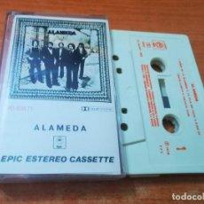 Casetes antiguos: ALAMEDA CASETE CASSETTE DEL AÑO 1979 CONTIENE 7 TEMAS MUY RARA ROCK ANDALUZ. Lote 278983408