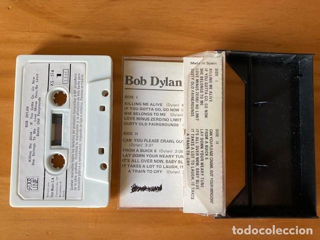 Casetes antiguos: CASSETTE BOB DYLAN STAR MUSIC - Foto 2 - 283077813