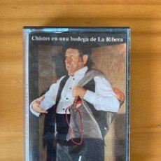 Casetes antiguos: CASSETTE CHISTES EN UNA BODEGA DE LA RIBERA EL SEÑOR TOMAS. Lote 283085293
