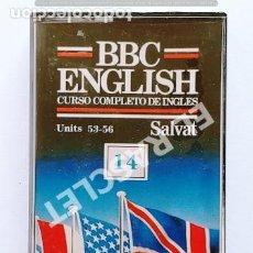 Casetes antiguos: CINTA CASSETTE DE - BBC -ENGLISH - Nº 14 - CURSO COMPLETO DE INGLES-NUEVO SIN USO- EN SU PRECINTO -. Lote 284491868