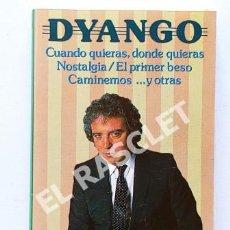 Casetes antiguos: CINTA CASSETTE DE - DYANGO - CUANDO QUIERAS DONDE QUIERAS -. Lote 284491963