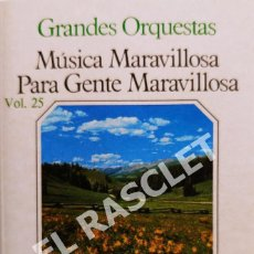 Casetes antiguos: CINTA CASSETTE DE : GRANDES ORQUESTAS - MUSICA MARAVILLOSA -. Lote 284635853