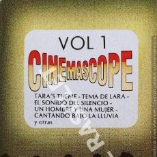 Casetes antiguos: CINTA CASSETTE DE :- CINEMASCOPE V.1- TEMAS PELICULAS -. Lote 284636593