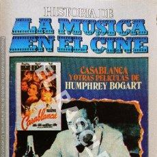 Casetes antiguos: CINTA CASSETTE DE - HISTORIA DE LA MUSICA EN EL CINE -. Lote 284637448