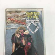 Casetes antiguos: CASSETTE DE TWISTED SISTER, STAY HUNGRY DE 1984.. Lote 286356773