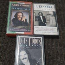 Casetes antiguos: CASETES DE LUIS COBOS. Lote 287085573