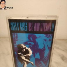 Casetes antiguos: GUNS N' ROSES - USE YOUR ILUSION II / CINTA DE CASETE (BUEN ESTADO) USE YOUR ILUSION 2. Lote 287366568