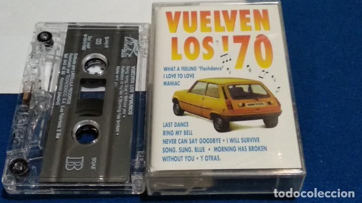 CASETE CINTA CASSETTE ( VUELVEN LOS 70 - RENAULT 5 GTL EN PORTADA ) 1993 LIBELULA - PERFECTA (Música - Casetes)