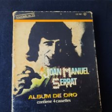 Casetes antiguos: JOAN MANUEL SERRAT ALBUM DE ORO.. Lote 287962133