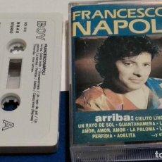 Casetes antiguos: CASETE CINTA CASSETTE ( FRANCESCO NAPOLI - ARRIBA) 1992 BOY RECORDS. Lote 288114518