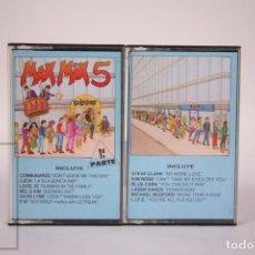 Casetes antiguos: CINTA DOBLE DE CASETE / CASSETTE - MAX MIX 5 - MAX - AÑO 1987. Lote 289459838