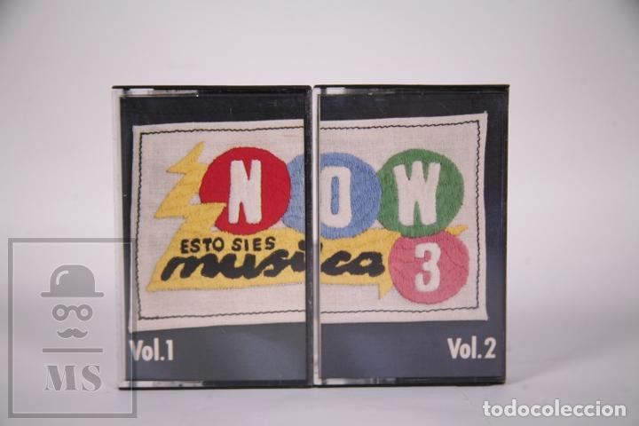 CINTA DOBLE DE CASETE / CASSETTE - NOW 3 ESTO SI ES MÚSICA VOL. 1 Y 2 - RCA - AÑO 1986 (Música - Casetes)