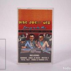 Casetes antiguos: CINTA DE CASETE / CASSETTE - DISC JOC KEY MIX / LET'S GO TO THE MIX JAVIER USSIA MIKE PLATINAS 1986. Lote 289459883