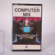 Casetes antiguos: CINTA DE CASETE / CASSETTE - COMPUTER MIX / ALASKA Y DINARAMA, GARY LOW, SAVAGE.. - HISPVOX 1985. Lote 289459893