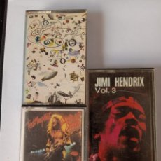 Casetes antiguos: TED NUGENT, LED ZEPPELIN,JIMI HENDRIX.. Lote 289476858