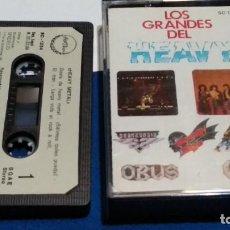 Casetes antiguos: CASETE(LOS GRANDES DEL HEAVY METAL -BARON ROJO, PANZER, OBUS, LEÑO,ÑU, SOBREDOSIS )1986 CHAPA DISCOS. Lote 289518048