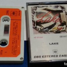 Casetes antiguos: CASETE CINTA CASSETTE ( LAKE - EN MARCHA ) 1977 CBS - ROCK - POCO USO - MUY DIFICIL. Lote 289901028