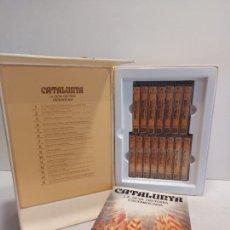 Casetes antiguos: CATALUNYA / LA SEVA HISTÒRIA ESCENIFICADA / CAJA BOX CON 15 CASETES (14 PRECINTADOS) + LIBRO 125 PAG. Lote 290941838