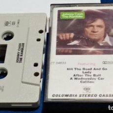 Casetes antiguos: CASETE CINTA CASSETTE ( JOHNNY CASH - THE RAMBLER ) 1977 CBS USA - COUNTRY ROCK. Lote 294962268