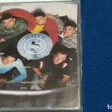 Casetes antiguos: CASETE CINTA CASSETTE ( 5 FIVE ) 1998 RCA BMG - POP - NUEVA PRECINTADA. Lote 294969303