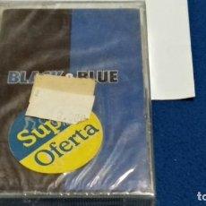 Casetes antiguos: CASETE CINTA CASSETTE ( BACKSTREET BOYS - BLACK & BLUE )2000 ZOMBA - POP - NUEVA PRECINTADA. Lote 294970033