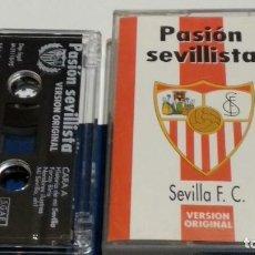 Casetes antiguos: CASETE CINTA CASSETTE ( PASIÓN SEVILLISTA - SEVILLA F.C )1995 BRAVO RECORDS - NUEVA SIN PRECINTADA. Lote 294974838