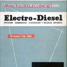 Coches y Motocicletas: ELECTRO-DIESEL, Nº 16, OCTUBRE, 1961.. Lote 13681091
