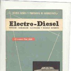 Coches y Motocicletas: 'ELECTRO-DIESEL'. Lote 22758756