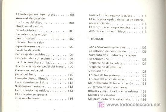 Coches y Motocicletas: CITROEN GSA -Antonio y José Madueño Leal- (1980). Con muchas fotos, gráficos, esquemas... (Citroën) - Foto 4 - 26271958