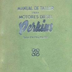 Coches y Motocicletas: MANUAL DE TALLER MOTORES DIESEL PERKINS. Lote 27349205