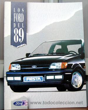LOS FORD DEL '89 - CATALOGO PUBLICIDAD ORIGINAL (Coches y Motocicletas Antiguas y Clásicas - Catálogos, Publicidad y Libros de mecánica)