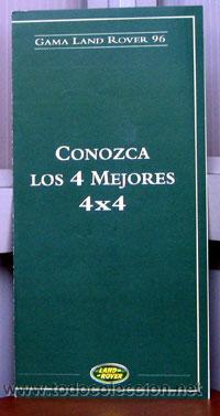 GAMA LAND ROVER 96, CATALOGO PUBLICIDAD ORIGINAL (Coches y Motocicletas Antiguas y Clásicas - Catálogos, Publicidad y Libros de mecánica)