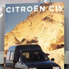 Coches y Motocicletas: CITROËN C-15 CATALOGO PUBLICIDAD ORIGINAL . Lote 25423324