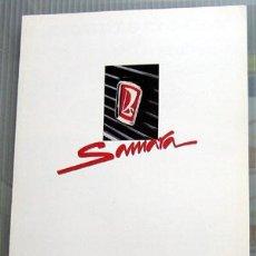 Coches y Motocicletas: LADA SAMARA 1500 -- CATALOGO PUBLICIDAD ORIGINAL . Lote 26250274