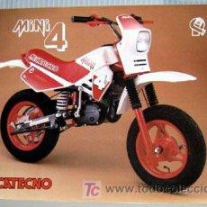 Coches y Motocicletas: MECATECNO MINI 4 -- CATALOGO PUBLICIDAD ORIGINAL . Lote 107527638