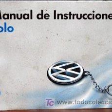 Coches y Motocicletas: VOLKSWAGEN POLO- 1995 - TODA LA GAMA - MANUAL INSTRUCCIONES USUARIO, TEXTO EN ESPAÑOL. . Lote 26166390
