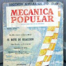 Coches y Motocicletas: REVISTA MECANICA POPULAR -- MAYO 1960. . Lote 26445660