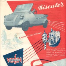 Coches y Motocicletas: VOISIN BISCUTER. Lote 12179192