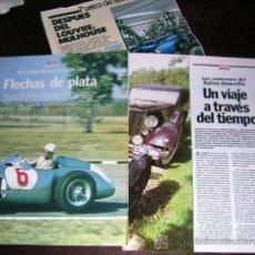 Coches y Motocicletas: 3 ARTÍCULOS. FLECHAS DE PLATA. MUSEO: MULHOUSE Y RALLY DEAUVILLE. . Lote 26493073