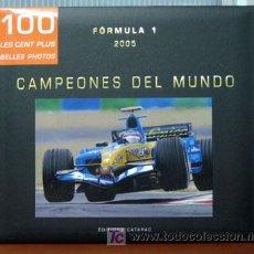 Coches y Motocicletas: RENAULT F-1 Y FERNANDO ALONSO CAMPEONES DEL MUNDO 2005 - LAS 100 MEJORES FOTOS. Lote 198388185