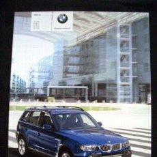 Coches y Motocicletas: BMW X3 2006, CATALOGO COMERCIAL-BROCHURE. Lote 29609019