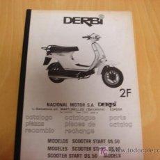 Coches y Motocicletas - libro original de piezas Derbi Scooter Start DS.50 - 116539767